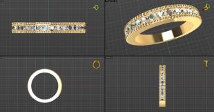 American ring